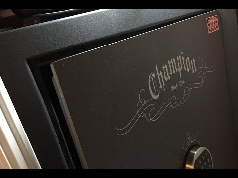 The Best Closet Gun Safe – Champion Model T