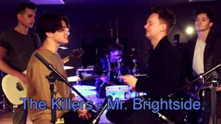 """Brad from """"The Vamps"""" 4x loop (The Killers - Mr. Brightside)"""