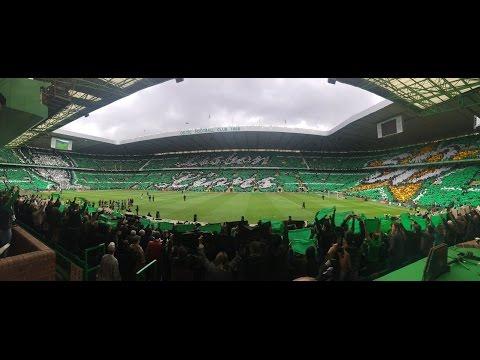 Celtic Fans   Full Stadium Tifo