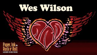 Paper, Ink And Rock And Roll - A History Of Posters #5 - The Poster Art Of Wes Wilson