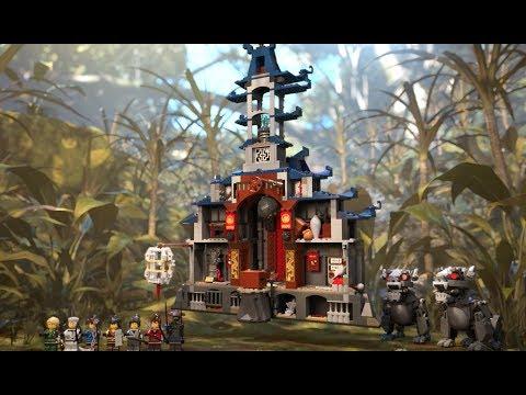 Конструктор Bl «Храм Последнего великого оружия» 10722 (НиндзяГо Movie 70617) / 1449 деталей