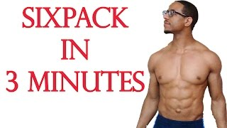 How To Get A Six Pack In 3 Minutes For A Kid - How to Get A Six Pack Tutorial