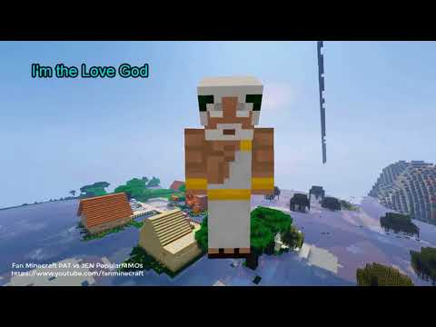 NEW Popularmmos Pat and Jen Minecraft: What is the secret of Jen's Devil Husband #2