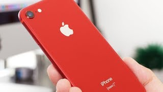 Product RED iPhone 8 Unboxing & First Impressions!