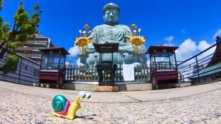 【兵庫県】カタツムリと旅を・・・「神戸・地上3センチ」