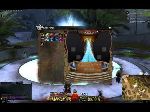 Guild Wars 2 - Nightfury Shoulder Skin - смотреть онлайн на Hah Life