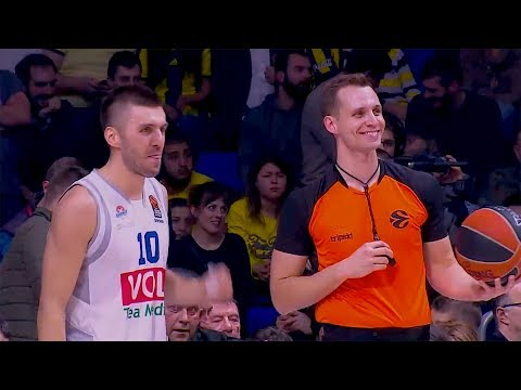 Tribute to the Euroleague Basketball referees