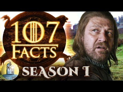 107 Game of Thrones Season 1 Facts YOU Should Know (Cinematica)