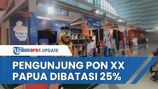 PON XX Papua Boleh Dihadiri Penonton, Dibatasi 25 Persen dari Total Kapasitas dan dengan Persyaratan