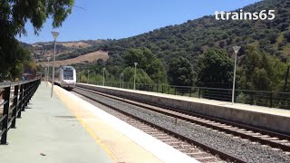 preview picture of video 'Journey on renfe Media Distancia from Jimera de Libar to Benaoján Class 599 DMU'