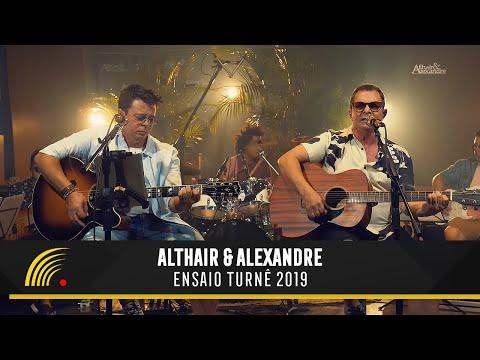 Althair & Alexandre - Ensaio Turnê 2019