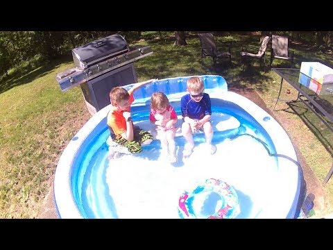 Intex Swim Center Family Lounge Pool Review Inflatable Pool Review