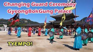 Changing Royal Guard Ceremony at GyeongBokGung Palace