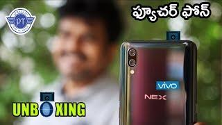 VIVO NEX Unboxing & initial impressions ll in telugu ll