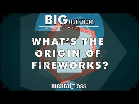 What's the origin of fireworks?  - Big Questions - (Ep. 222)