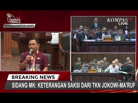 Sidang MK, Saksi 01 yang Ikut Rapat Pleno KPU Cerita Keakrabannya dengan Saksi 02