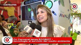 CC Carnaval lanza ECOBOT - tecnología al servicio del medio ambiente