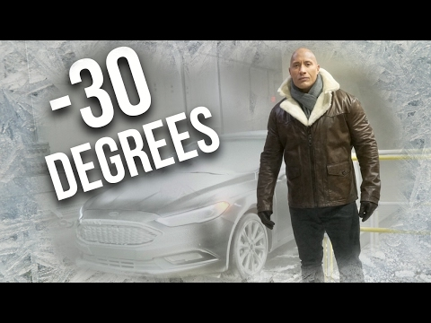 -30 Degree Wind Tunnel at the Ford Factory!