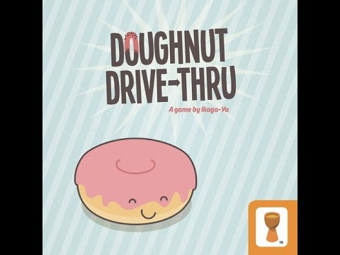 Time to make the Doughnuts!  Doughnut Drive Thru playthrough and review