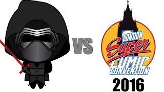 Kylo-Ren Hates London Super Comic Con 2016