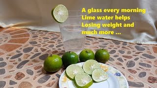 Lime Juice With Morning Water Helps With Weight Loss