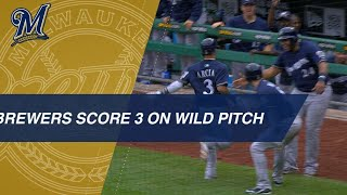 Brewers score 3 runs on wild pitch, error vs. Pirates - Video Youtube