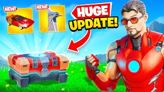 *NEW* BIGGEST UPDATE EVER in Fortnite! (New Mythics, Superhero Chests + MORE)