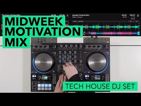 Tech House on Traktor S4 – Midweek Motivation Mix