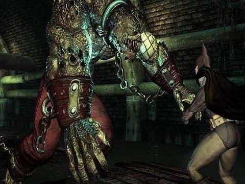 Killer Croc - BOSS FIGHT - Batman Arkham Asylum