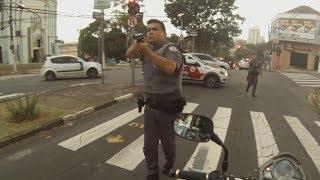 Así para la Policía a las Motos en Brasil #2 2018
