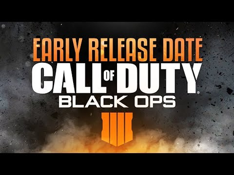 Call of Duty: Black Ops 4 Early Release Date & Official Teaser Trailer Reveal! (CoD BO4)