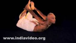 Dhanurasana (The bow pose)