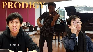 REACTING TO THE VIOLIN PRODIGY