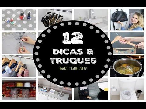 12 Truques de limpeza e organização para sua casa