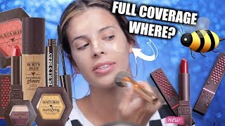 I TESTED BURTS BEES MAKEUP | SOME FLOPPED, SOME DIDNT - Video Youtube