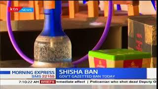 Shisha Ban:Users,Pubs cry foul as health ministry direct ban of Shisha