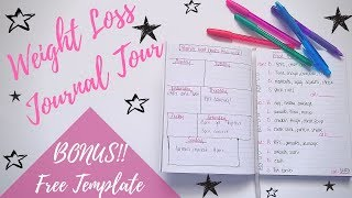 My Weekly Weight Loss Journal Tour | Planning Out The Week