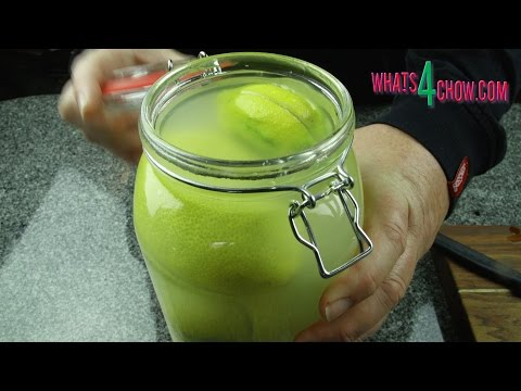 How to Make Moroccan Preserved Lemons - Middle Eastern Cuisine, Moroccan Preserved Lemons
