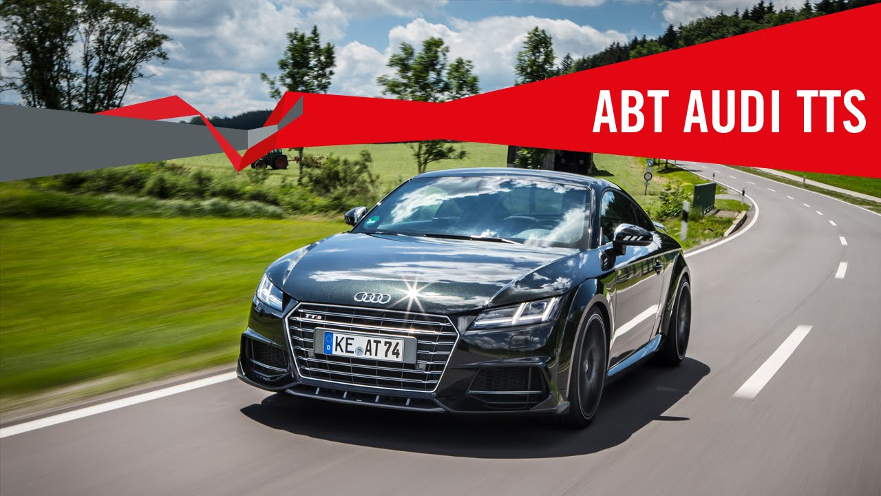 The new Audi TTS from ABT Sportsline