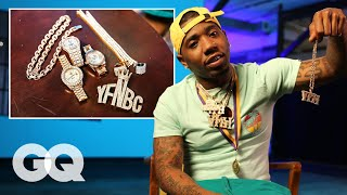 YFN Lucci Shows Off His Insane Jewelry Collection   GQ