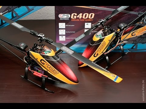 Walkera G400 RTF GPS Helikopter Walkerafans Erstflug & Test