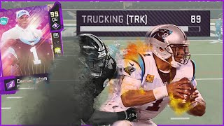 99 Cam Newton Can LITERALLY Truck Linebackers! (Madden 20)