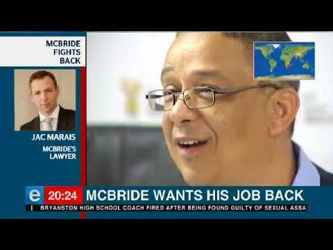 Fridays with Tim Modise McBride wants Ipid job back 1 March 2019