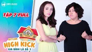 Gia đình là số 1 sitcom | tập 7 full: Phi Phụng bật khóc vì tự ti trước Thu Trang