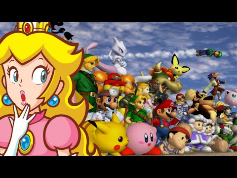 Super Smash Bros. Melee - Peach loses by doing absolutely everything