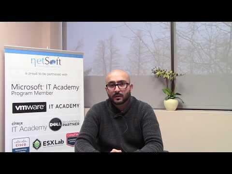 NetSoft College Testimonial Munaf M. Notta