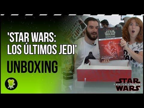 Unboxing merchandising 'Star Wars: Los últimos Jedi'
