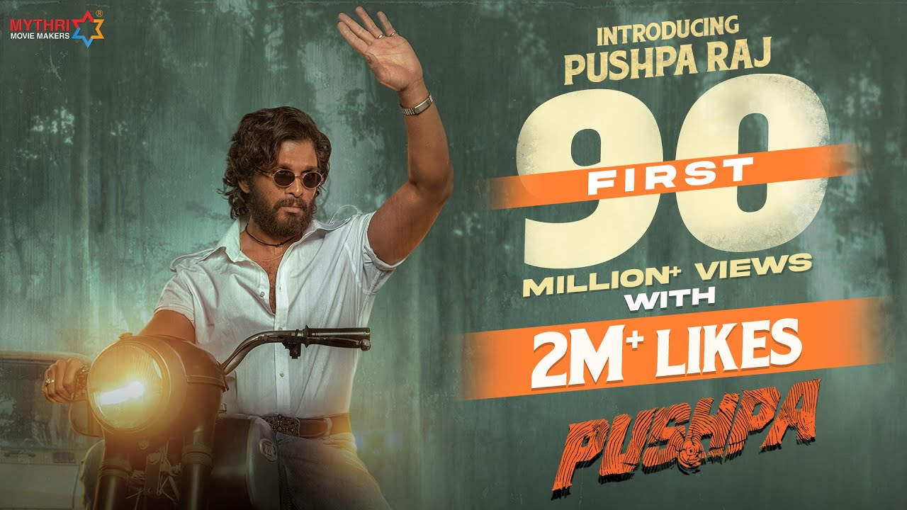 Introducing Pushpa Raj | Allu Arjun | Pushpa