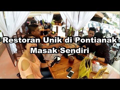 Video Restoran Unik di Pontianak Masak Sendiri