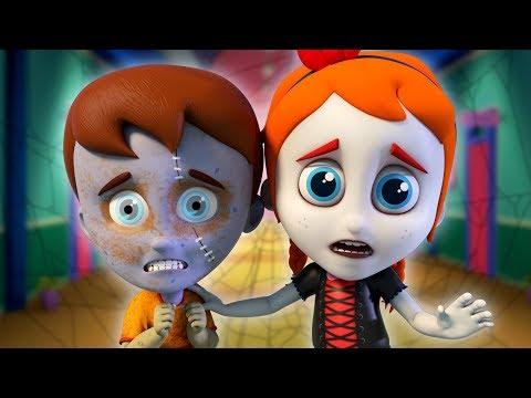 🔴 Halloween Songs For Kids | Schoolies Cartoons | Nursery Rhymes + More Baby Songs